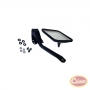 Side Windshield Mirror Kit (Stainless)