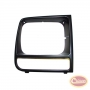 Right Headlamp Bezel (Black/Black)