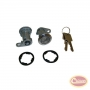 Door Cylinder Kit (2 Cylinders w/ Keys)