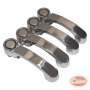 Door Handle Kit (Stainless - 4 pcs)