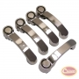 Door & Tailgate Handle Kit (Stainless-5 pcs)